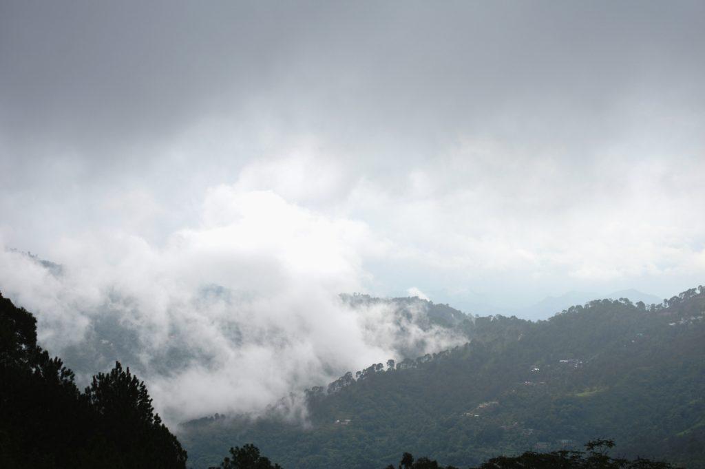 Distant view of Shivalik Hills @traxplorers