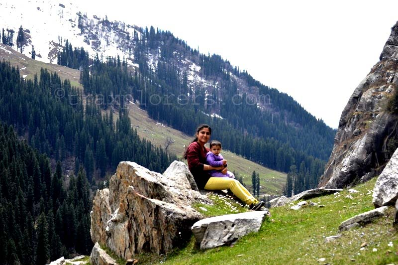 Glacier Valley at Hampta Pass (Manali) H.P