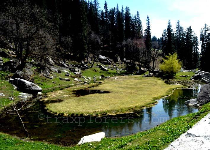 'Pandu Ropa' where Pandavas did cultivation at Manali Hampta Pass Trek (H.P)