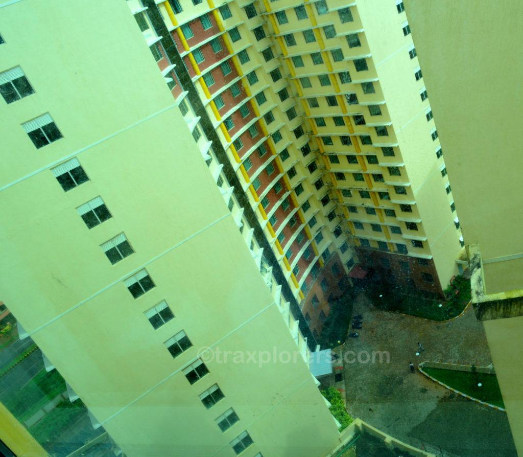 16th floor of an International hostel, Manipal University (Udupi), Karnataka. @traxplorers.com