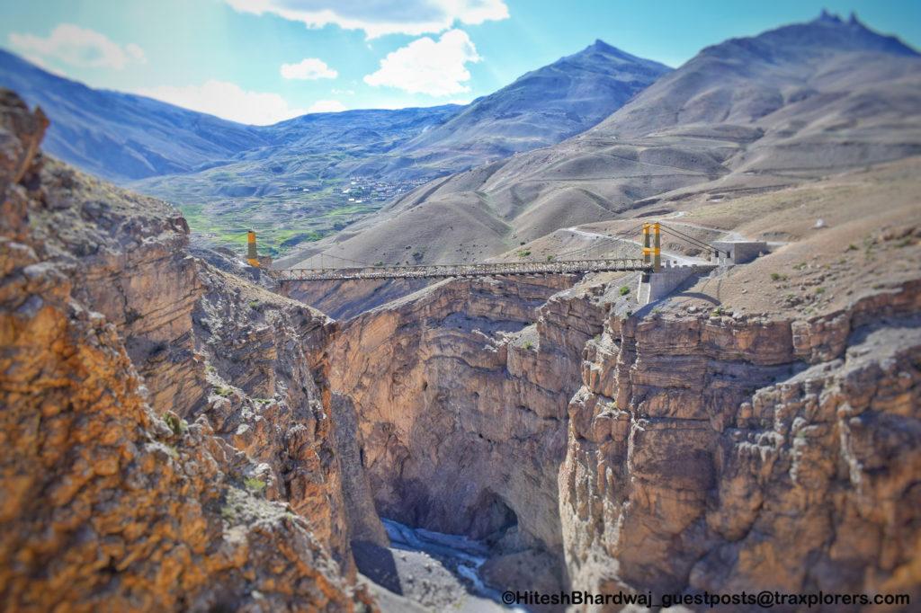 Asia's highest bridge - 13,244 ft. from sea level at 'Chicham'- guestposts@traxplorers.com