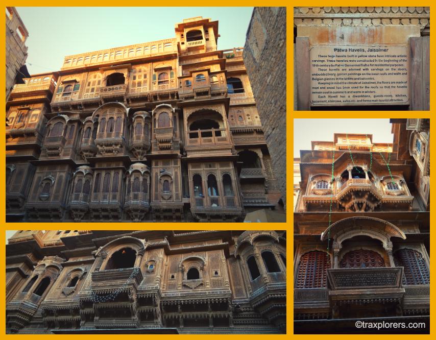 The Havelis- Jaisalmer